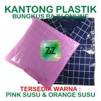 KANTONG PLASTIK BUNGKUS PAKAIAN Tas Kresek Packaging Baju Online Shop