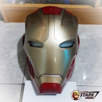 Helm Iron Man Mark XLV 45 Cosplay | Ironman Helmet Open Face Wearable