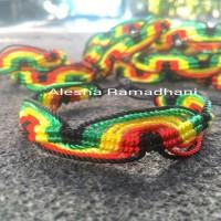 Gelang Reggae,Gelang Rasta,Gelang Jamaica