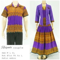 Couple Gamis Respati Ungu
