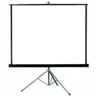 "Tripod Screen Projector (Layar Proyektor 70"")"