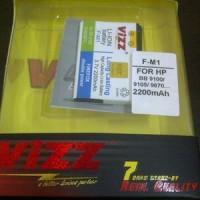 Jual Baterai Double Power Vizz BB FM1 F-M1 Pearl 3G, Style 9100 9105 9670 Murah