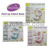 harga MASTELA - FOLD UP INFANT SEAT / FOLDING UP / BOUNCER BOUNCHER MINI Tokopedia.com