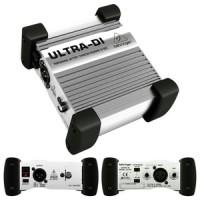 Behringer Ultra DI / Phantom Powered DI Box DI100 / DI 100