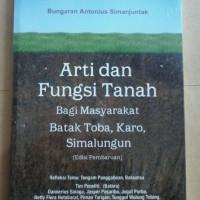 Harga arti dan fungsi tanah bagi masyarakat batak | antitipu.com
