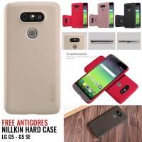 Nillkin Frosted Shield LG G5 / G5 SE Hardcase Cangkang Free Screen