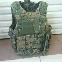 ROMPI POLICE KERAMIK ANTI PELURU ARMY