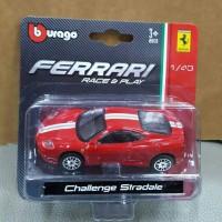 Diecast mobil Ferrari challenge stradale skala 43