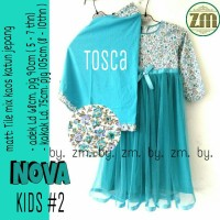 supplier baju muslim nova kids #2