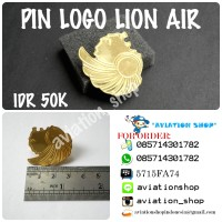 PIN SKY TEAM , PIN LOGO SINGA LION AIR JILID 2