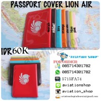 PASSPORT COVER LION AIR , WINGS AIR , BATIK AIR  JILID 1