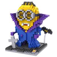 LOZ Lego Nano Block Nanoblock Minion Dracula