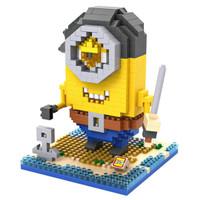 LOZ Lego Nano Block Nanoblock Minion Pirate