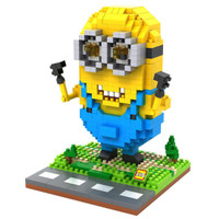 Jual LOZ Lego Nano Block Nanoblock Minion Modern Murah