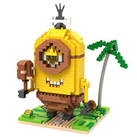 LOZ Lego Nano Block Nanoblock Minion Stone age