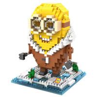 LOZ Lego Nano Block Nanoblock Minion Arctic