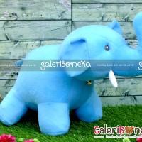 Boneka Gajah Biru Besar ( HK - 262930 )
