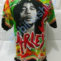 kaos pantai baju pantai rasta reggae