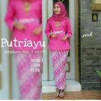 Batik Pekalongan Kebaya Putri Ayu Pink