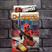 Jual Lego Deadpool red 6 Marvel Bootleg Murah