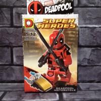 Jual Lego Deadpool red 2 Marvel Bootleg Murah