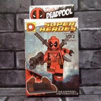 Jual Lego Deadpool red 5 Marvel Bootleg Murah