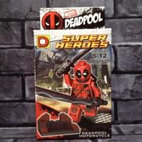 Jual Lego Deadpool red 3 Marvel Bootleg Murah
