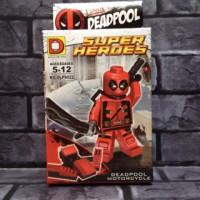 Jual Lego Deadpool red 4 Marvel Bootleg Murah