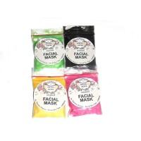 Jual kefir mask varian black charcoal, strawberry, kunyit, green tea grosir Murah