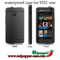 Hardcase Waterproof Bumper Redpepper Case Underwater For Htc One M7