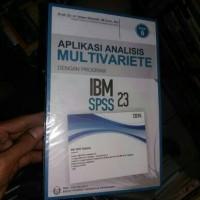 IBM SPSS 23 +CD by imam ghozali