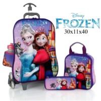 Jual Tas Troli Frozen 3D 4 in 1 Set Frozen Murah