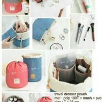 Travel Dresser Pouch Organizer/tas rias praktis/tempat makeup portable
