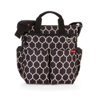 Skip Hop Duo Signature Diaper Bag - Onyx Tile