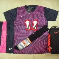 PAKET KOMPLIT Baju Futsal Bola NIKE Printing Gato