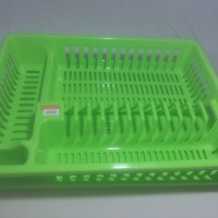 Global Eagle Rak Tiris Piring Plastik + Tatakan