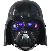 mainan topeng starwars darth vader star war wars led nyala mask lampu