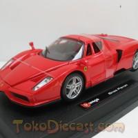 Miniatur Mobil Ferrari Enzo Merah - Diecast Bburago 1/24