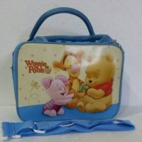 harga Travel bag/ tas travel koper selempang winnie the pooh spons saten Tokopedia.com