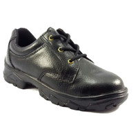 Jual Sepatu Safety Shoes Murah Laced Up (Hitam) Murah