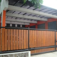 Jual Pagar Minimalis Besi Kombinasi Kayu Di Malang Surabaya Bali - Kota  Malang - INDOSEMERU GROUP. | Tokopedia