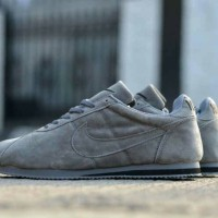 Sepatu Casual Nike Cortez Cholo Suede Pack Grey