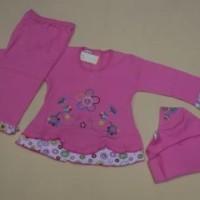 Baju Setelan  Baju Muslim Anak Perempuan, Umur 6 -18 Bulan   1 Tahun