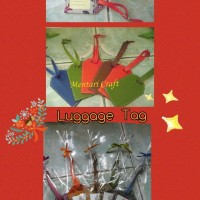 Jual [Preorder 3 Minggu] Luggage Tag Batik - Vinyl Murah