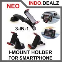 harga Imount 3 In 1 Car Handphone Holder Pegangan Hp Mobil Tokopedia.com