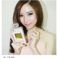 Hello Kitty Premium Swarovski Case / jelly case / casing /