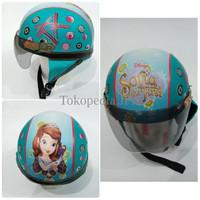Helm Anak Lucu Motif Sofia The First Disney 7HSM