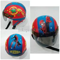 Jual Helm Anak Lucu Motif Spiderman OTYP Murah