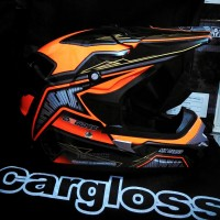 harga Helm Trail Motor Cross Orange Black ( Super Track ) Tokopedia.com