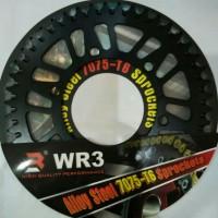 Gear Belakang Wr3 Ninja 250 Fi / Z250 Fi / Yamaha R25 / Mt 25